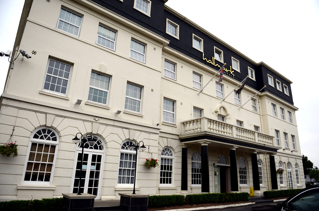 A picture of the welcoming and recently refurbished Hallmark Hotel Croydon, formerly the Aerodrome Hotel and a popular Surrey wedding venue