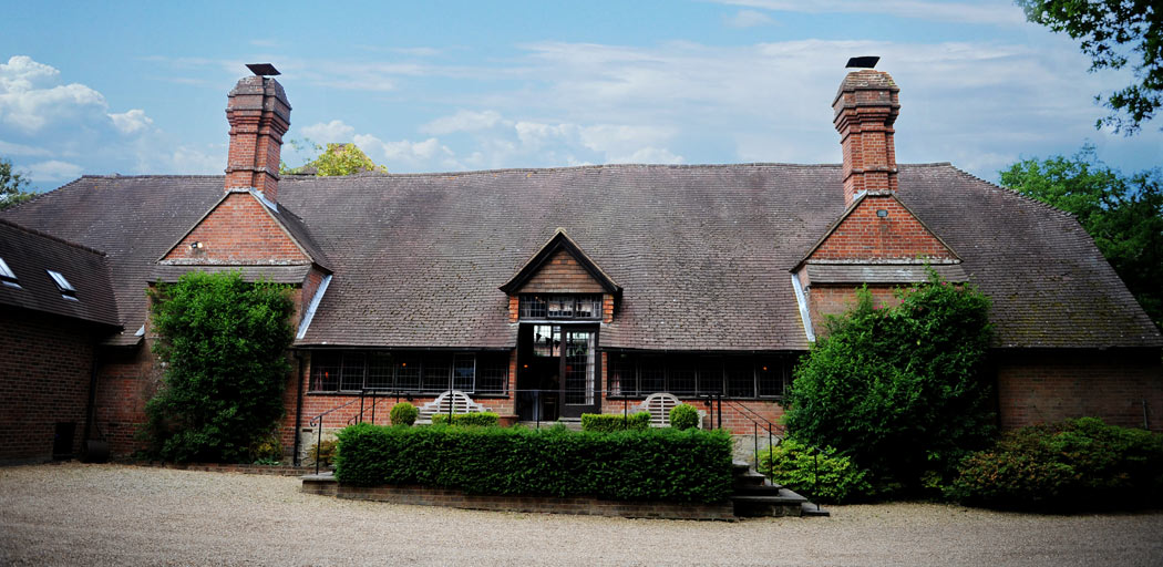Ramster Hall in the village of Chiddingfold, Guildford is a delightful Edwardian country house converted from its earlier barn origins and now a popular Surrey  wedding venue