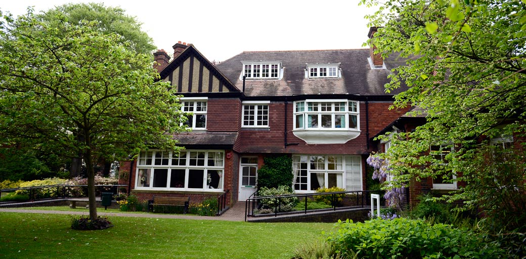 A picture of the homely and inviting Sutton Register Office Russettings one of the large houses built for the upper-middle classes and now a popular Surrey wedding venue